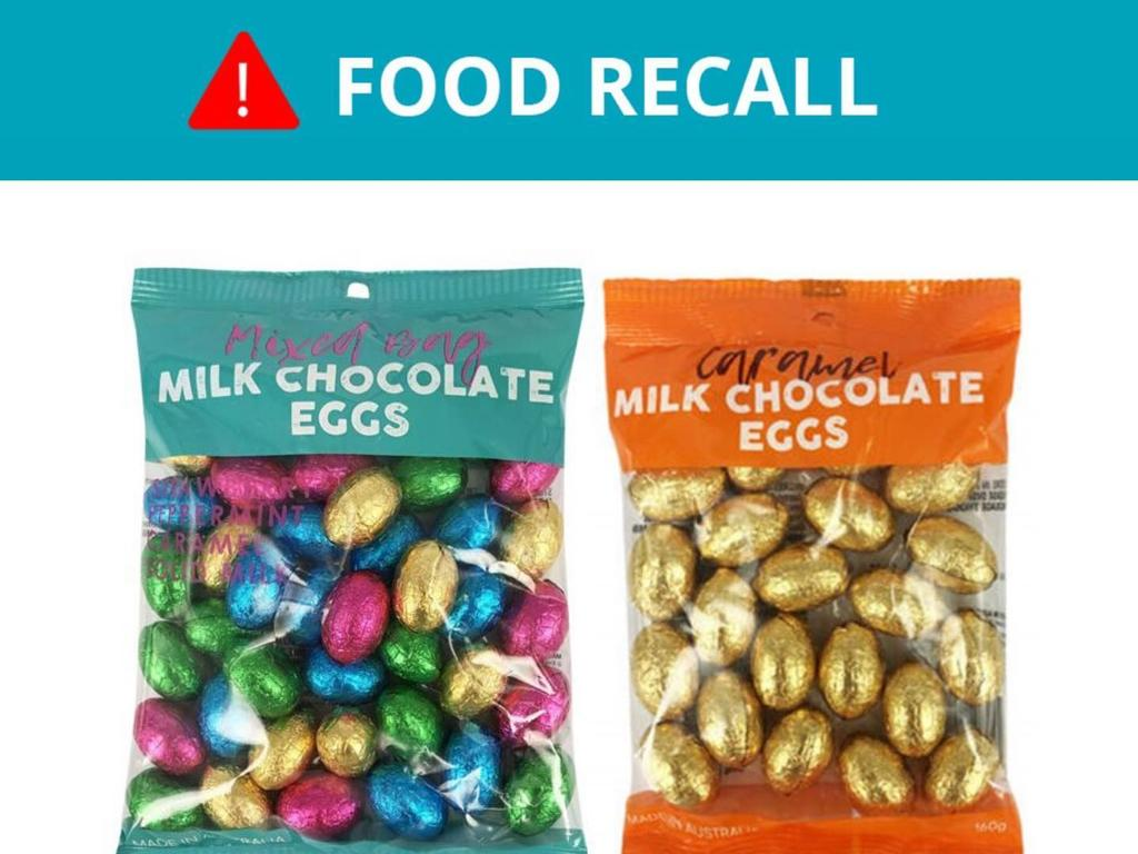 These chocolates with a use-by date of February 12 2021 have been recalled.