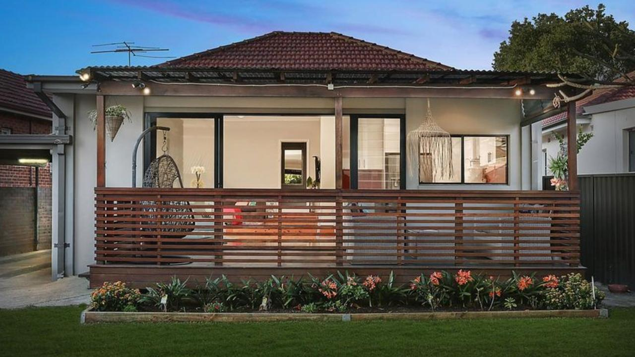 The median price of a Sydney home has dropped 15 per cent since 2017.