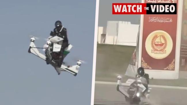 Hoversurf Hoverbike crashes during test