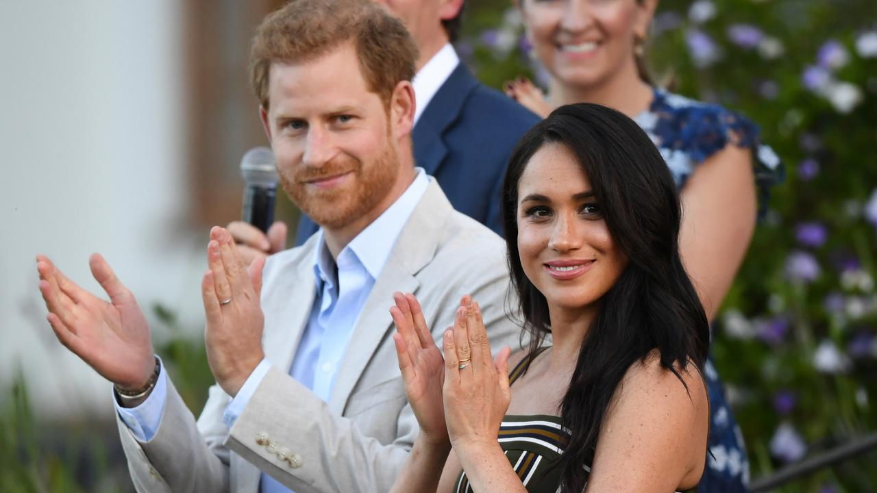 Harry and Meghan have gone out on their own, away from the royal family. Picture: Facundo Arrizabalaga – Pool/Getty