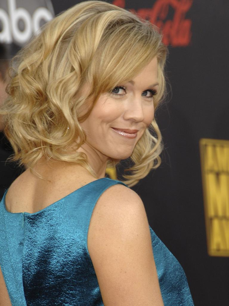 Jennie Garth met with network heads to discuss the return of 90210. Picture: AP Photo