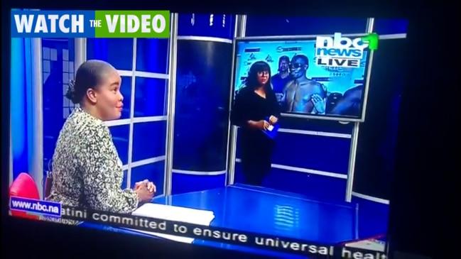 Hilarious on-air gaffe in Namibia (NBC)