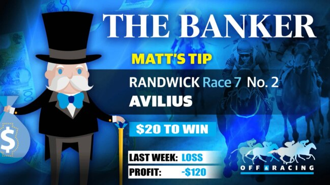 Off & Racing with The Banker - September 19