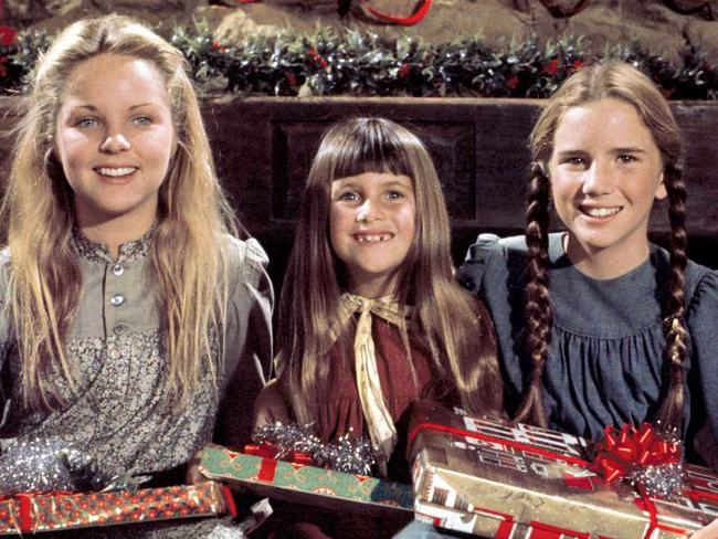 Melissa Gilbert (right) starred in <i>Little House on the Prairie </i>as a child. Picture: Supplied