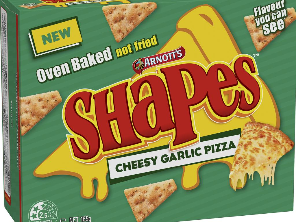 There's also a Cheesy Garlic Pizza flavour available.