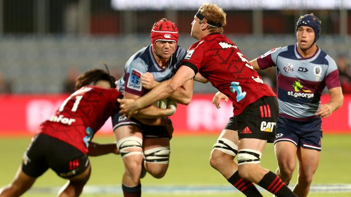 Super Rugby Rd 6 - Crusaders v Reds