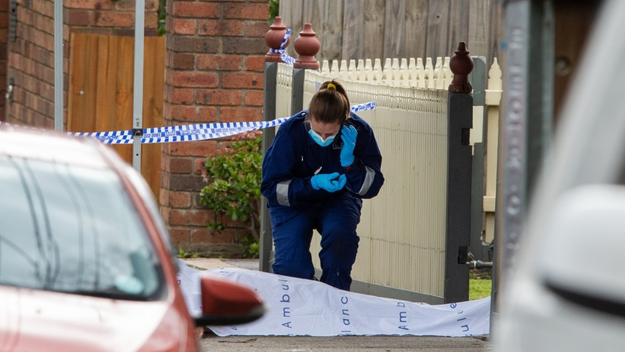 Manhunt underway after elderly man is 'killed on Melbourne footpath'