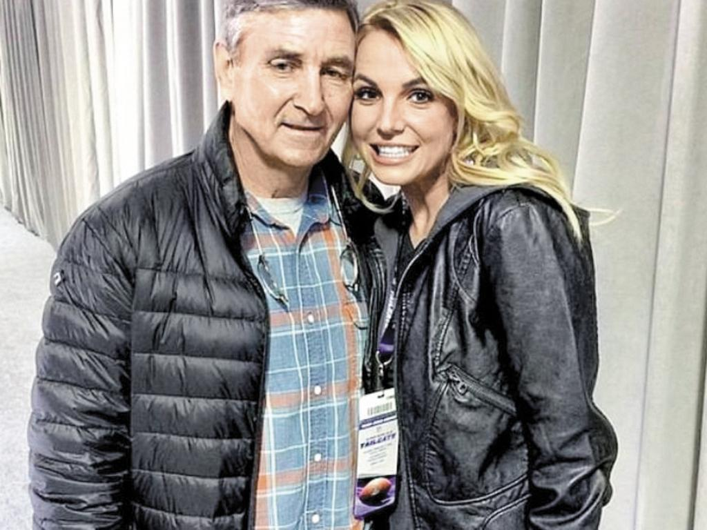 Britney wants her father Jamie removed from her conservatorship. Picture: Supplied