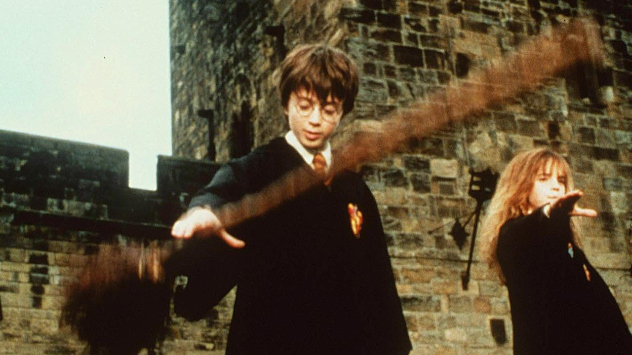 Undated handout still photo from the movie Harry Potter and the Philosopher's Stone, showing actor Daniel Radcliffe, portraying Harry Potter.  (AP photo/PA, film hand out)