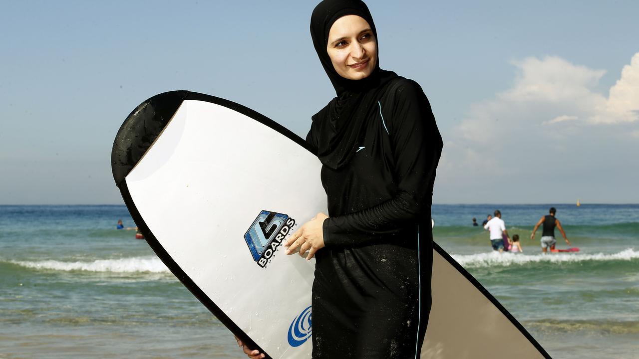 Burkinis go surfing
