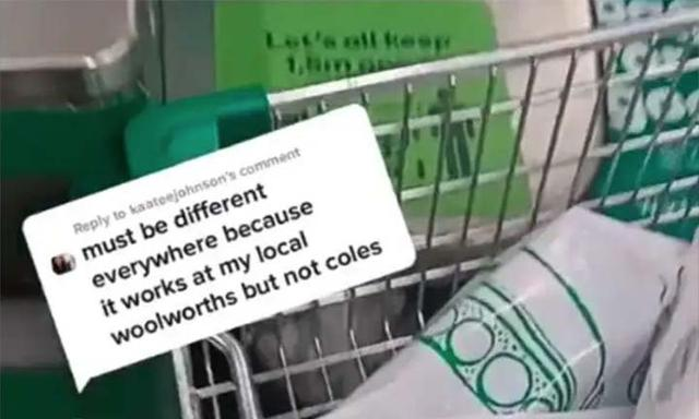 shopping trolley changes woolworths coles
