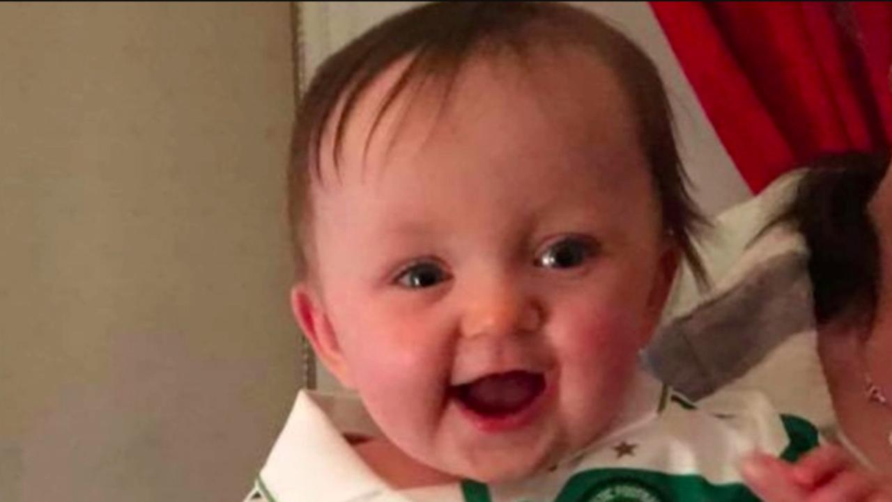 Kiera Conroy, 19 months, died alone in her cot. Picture: The Sun