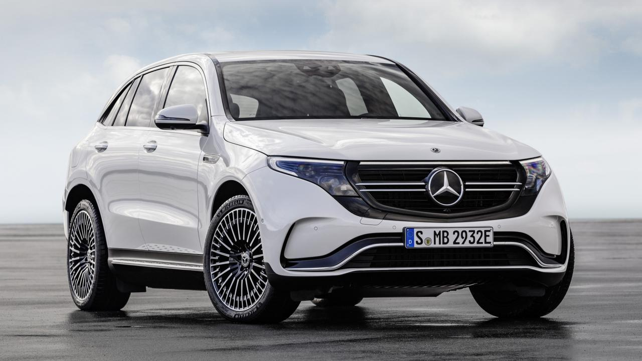 Mercedes-Benz is about to release its first electric SUV, the EQC. Picture: Supplied.
