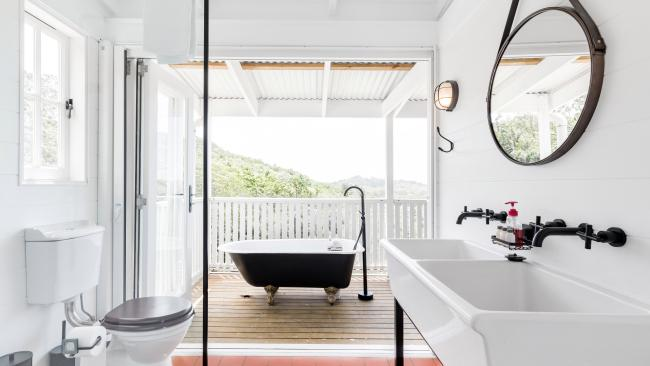 6/20Little Red Barn in the Noosa Hinterland, Doonan QLD Pick between soaking in your freestanding cast iron bathtub and the heated outdoor swimming pool at this cute Sunshine Coast property. See also: Top things to do for families in Noosa