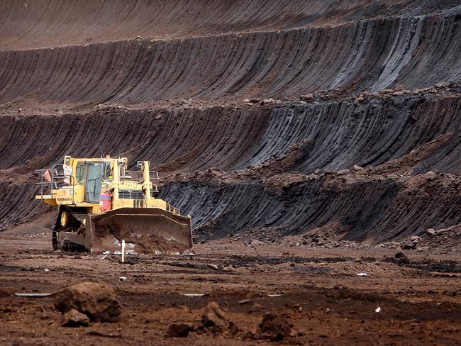 The IEA believes new coal mines will be needed. Picture: Stuart McEvoy for The Australian.