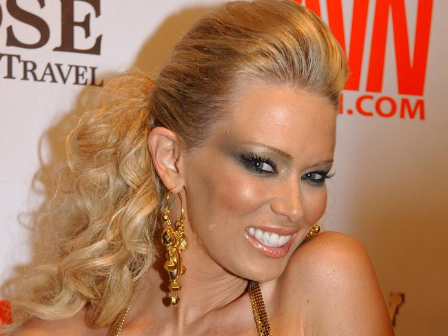 Porn veteran Jenna Jameson has starred in a string of Hollywood films. Picture: Eddie Malluk