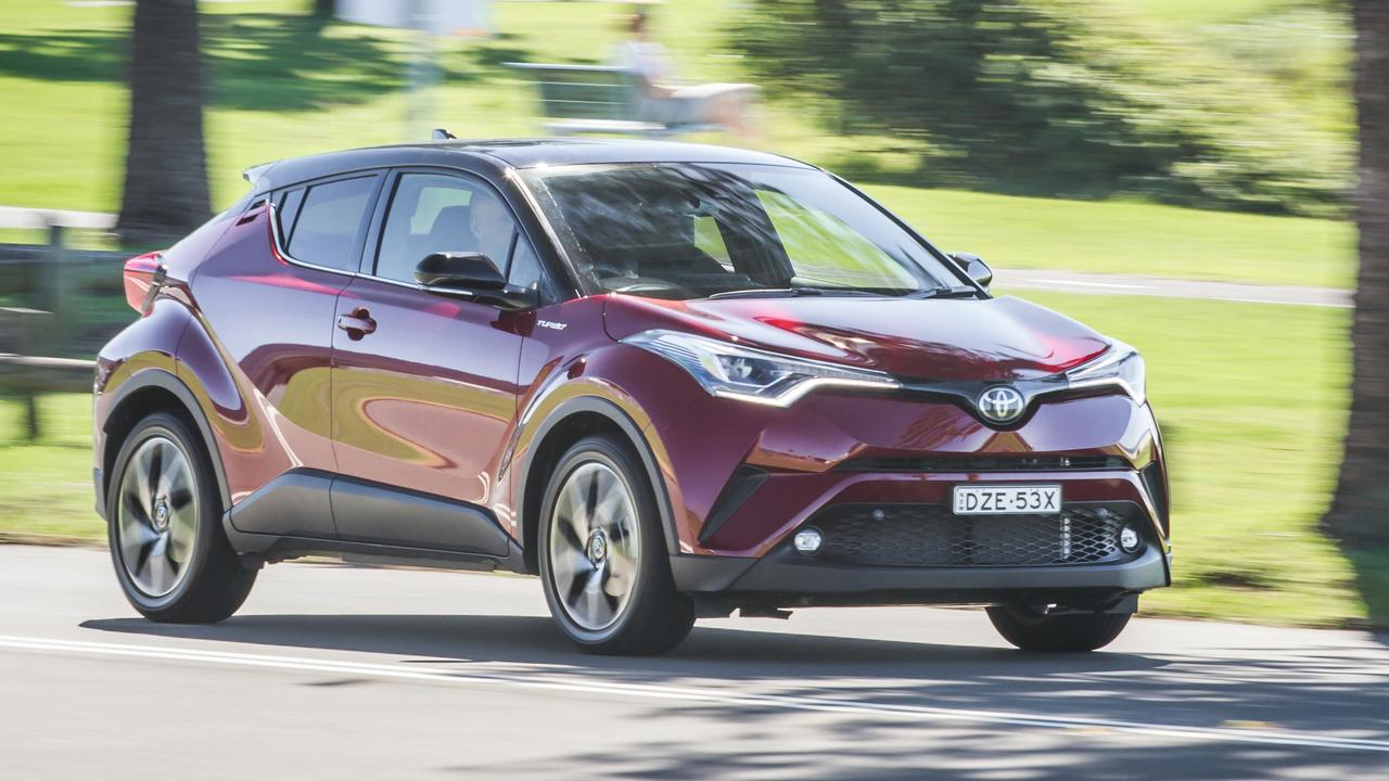 The Toyota C-HR is the best of the trio to drive.