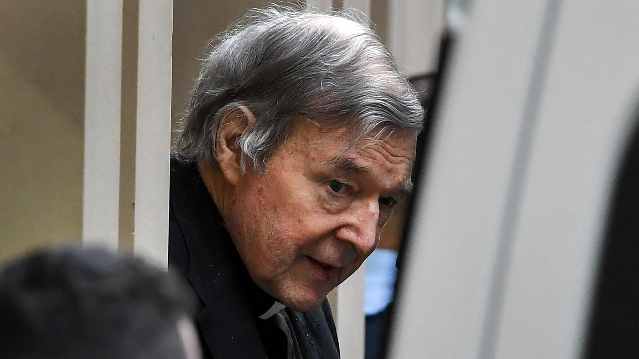 Pell was sent back to jail after his appeal against his convictions was dismissed in Victoria. Picture: William West/AFP