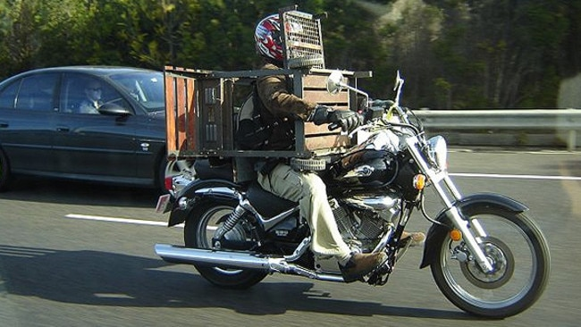 This biker really cooked up. Picture: HWT image library.