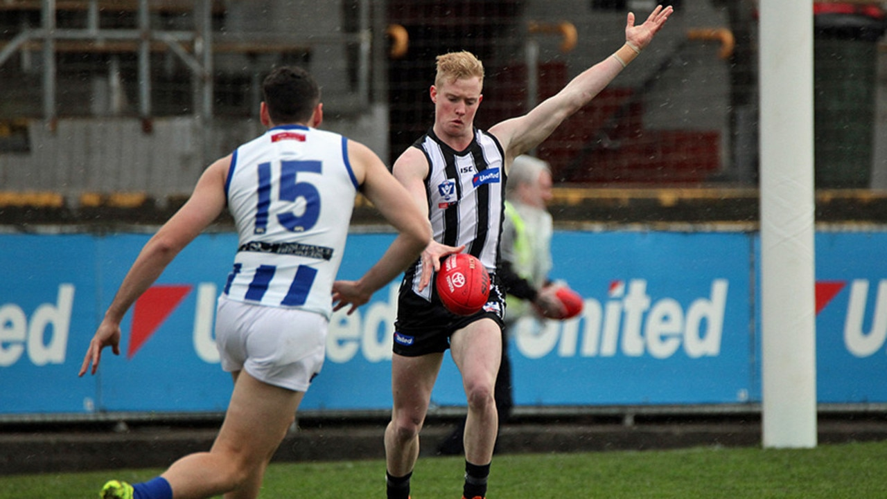 Collingwood mid-season recruit John Noble returns to Perth, but this time things are very different