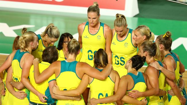 Australia regroup after the loss.