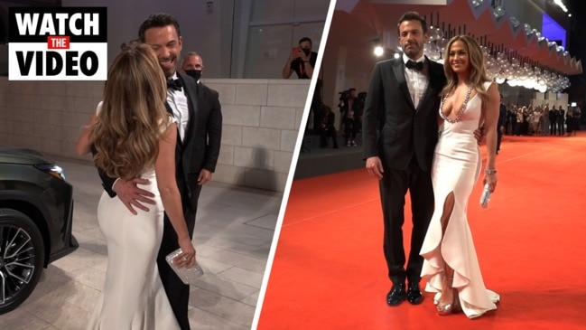 J-Lo and Ben Affleck arrived together at the Venice Film Festival for the premiere of Ridley Scott's 'The Last Duel'.