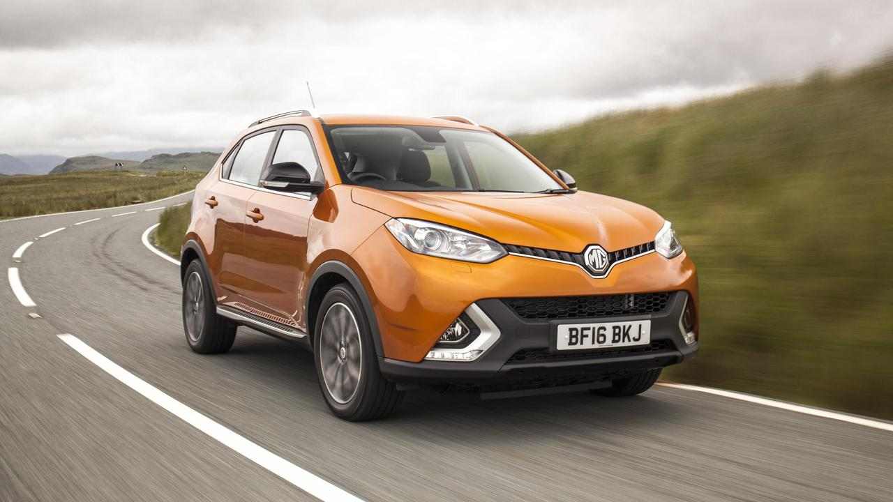 MG sells a number of SUVs in Australia.