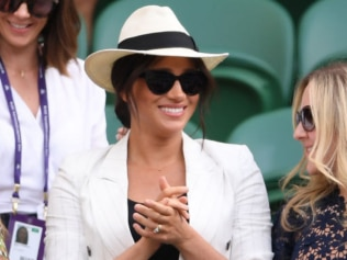 Meghan Markle dropped into Wimbledon overnight to watch her pal Serena Williams. Source: Getty Images