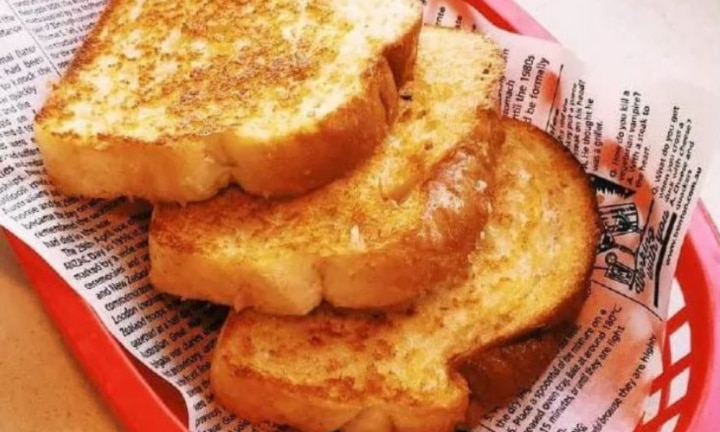 Genius way to make Sizzler's toast at home