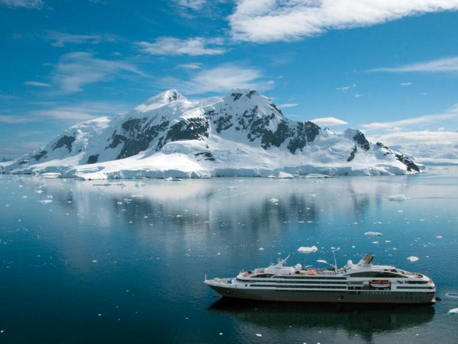 Several cruise companies sail to Antarctica. Picture: APT