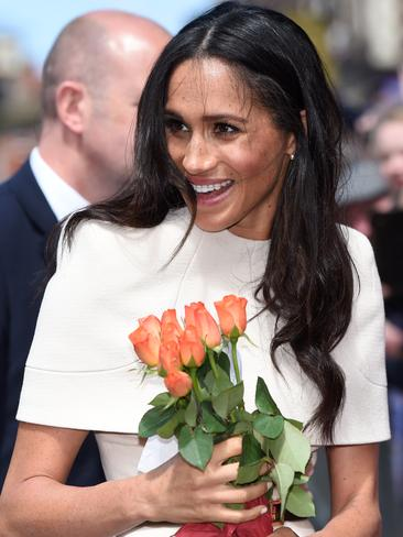 Meghan was adored by fans at her recent royal appearance with the Queen. Picture: MEGA Agency