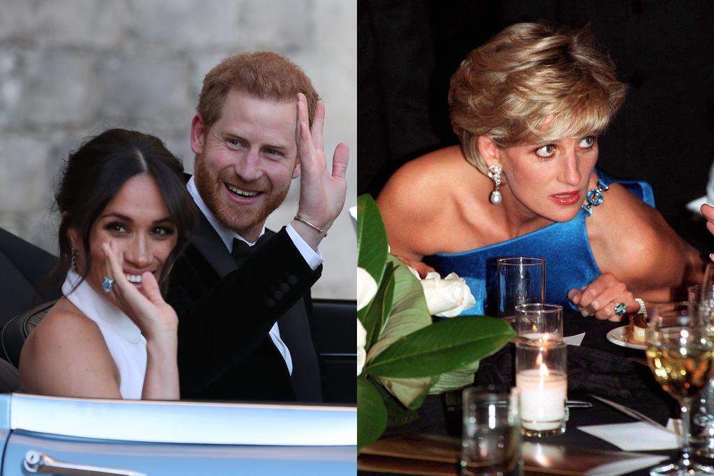 Meghan Markle S Something Blue For The Wedding Reception