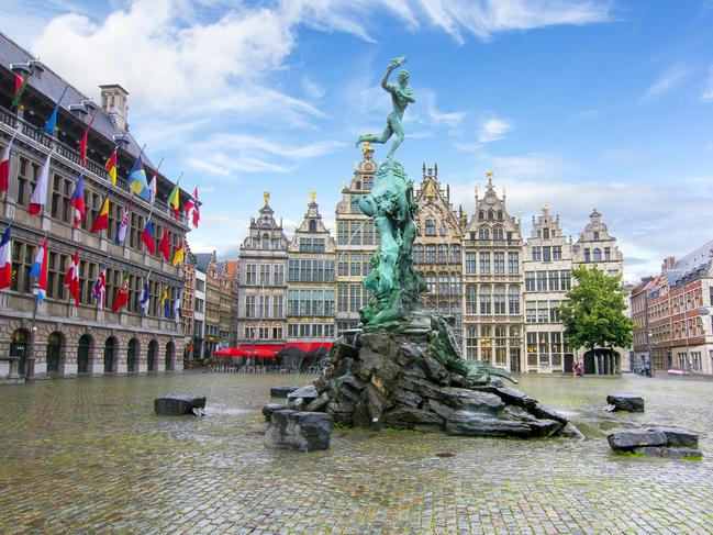ANTWERP, BELGIUM It has history running back to the Middle Ages, yet modern Antwerp is remarkably cutting edge. Not only is it the epicentre of the world diamond industry, it's also home to many edgy fashion designers making it a great destination for shopping.