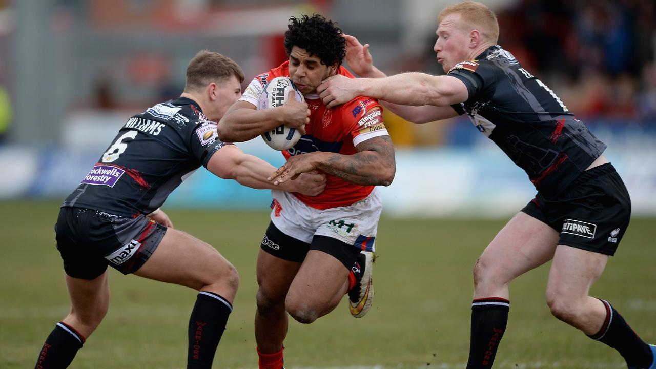 Albert Kelly playing for Hull KR. Picture: GETTY IMAGES