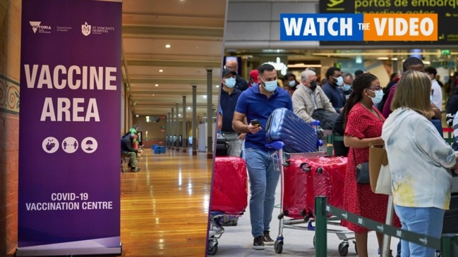 Australia's vaccine rollout a 'great failure' as Americans travel to Europe
