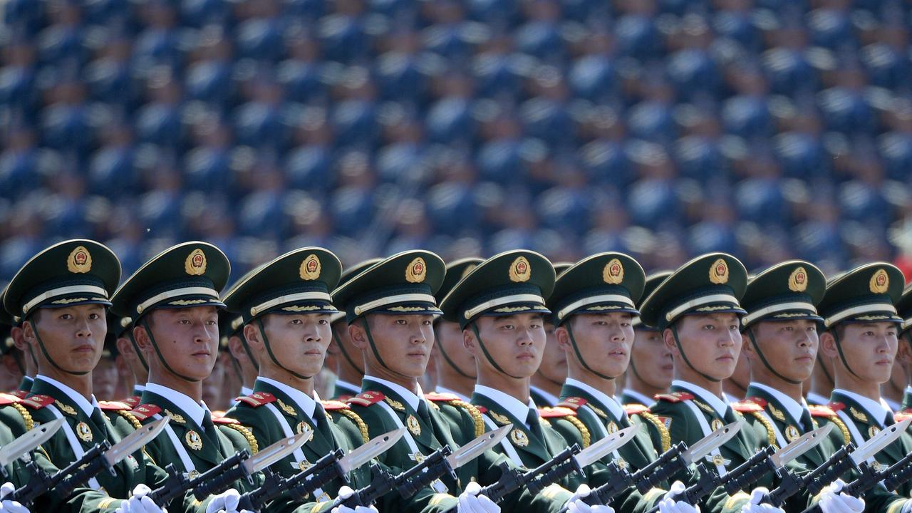 China is thought to have a military advantage over India, but both nations are nuclear armed. Picture: Wang Zhao/AFP