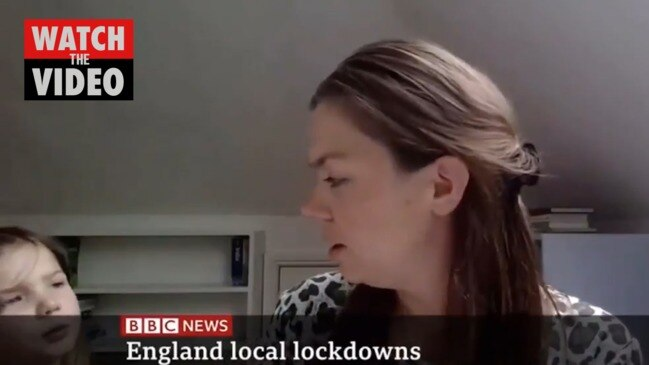 Live interview hilariously interrupted by child demanding to know who anchor is (BBC)