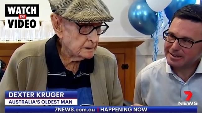 Oldest living Australian's secret to a long life (7 NEWS)