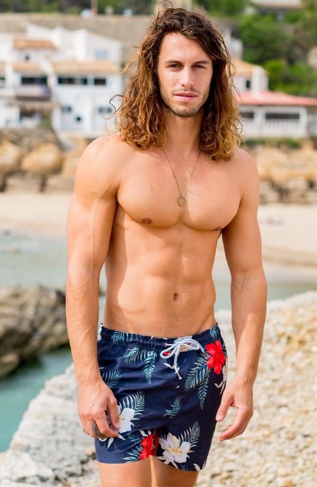 Eliminated Love Island Australia contestant Elias. Picture: Channel 9
