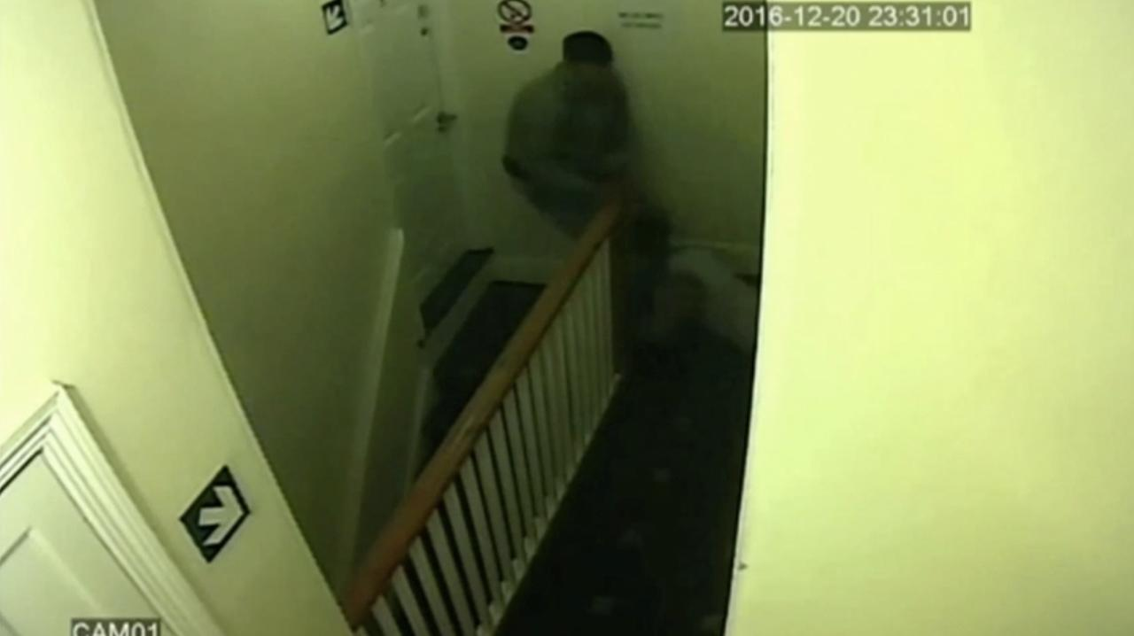 British police have released shocking CCTV footage of domestic violence.