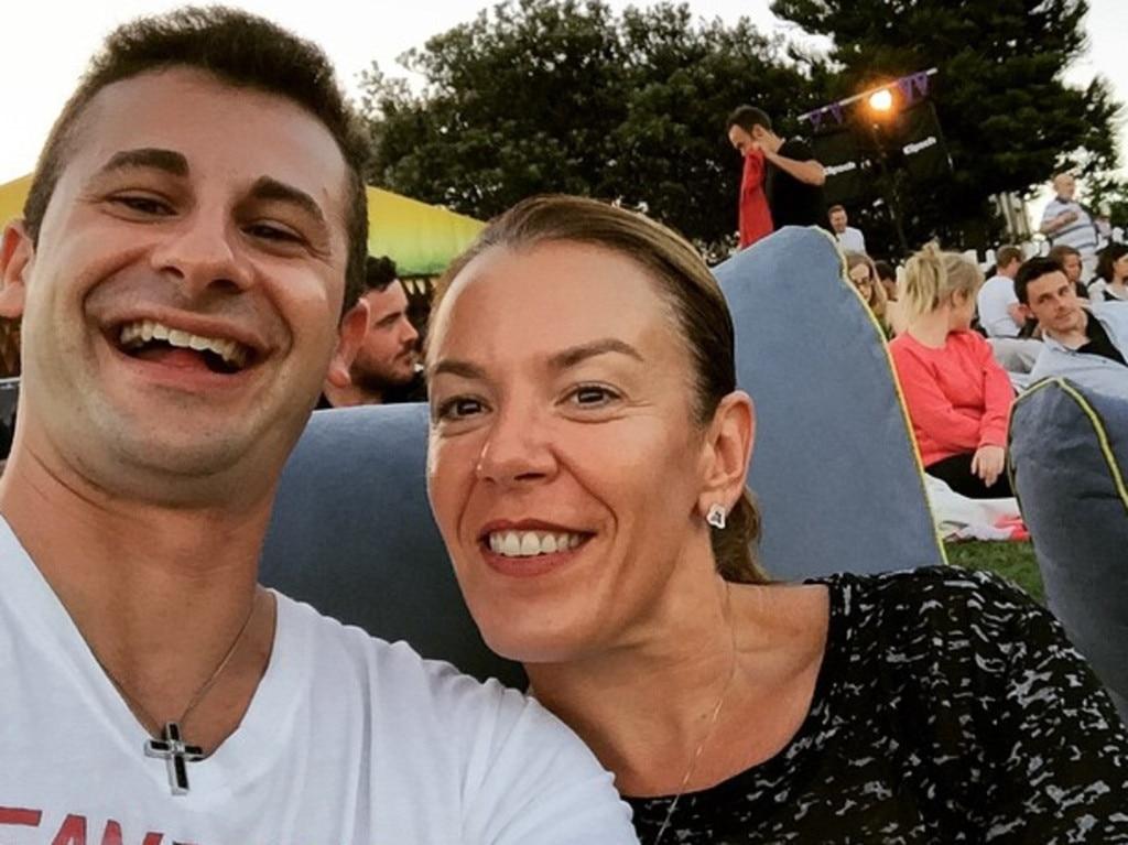 Anthony Koletti and Melissa Caddick.