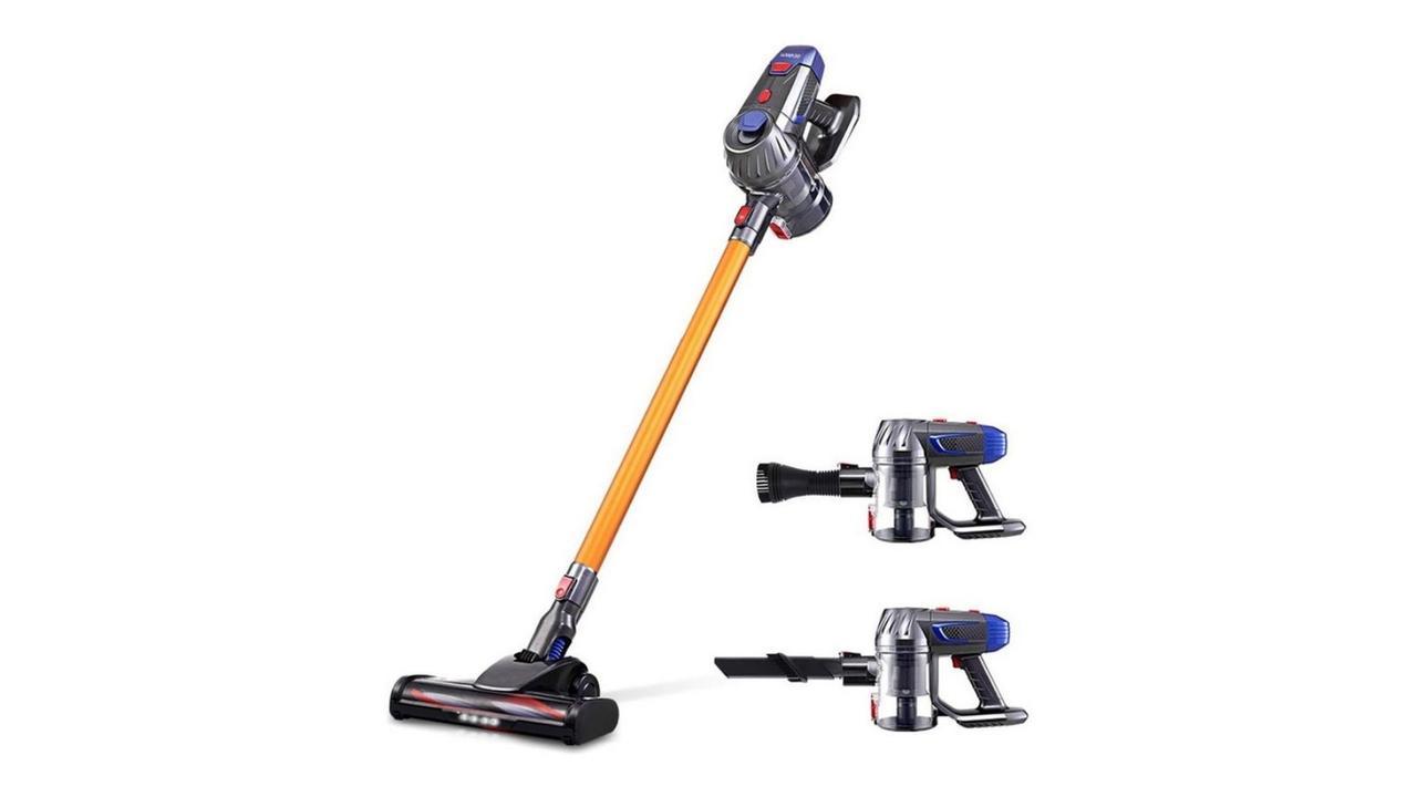 Devanti Handheld Vacuum Cleaner. Image: Myer.