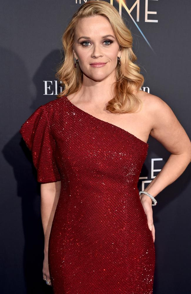 Reese Witherspoon said staying quiet about her assault was a condition of future opportunities — and she said many women have the same experience. Picture: Alberto E. Rodriguez/Getty Images for Disney