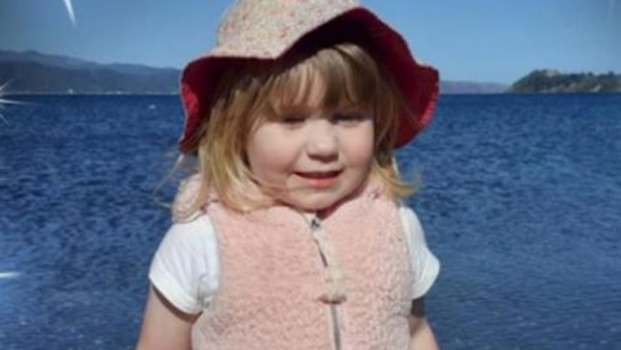 Amberlie Pennington-Foley who was accidentally killed by her dad.