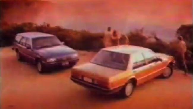 Ford Falcon 1984 commercial