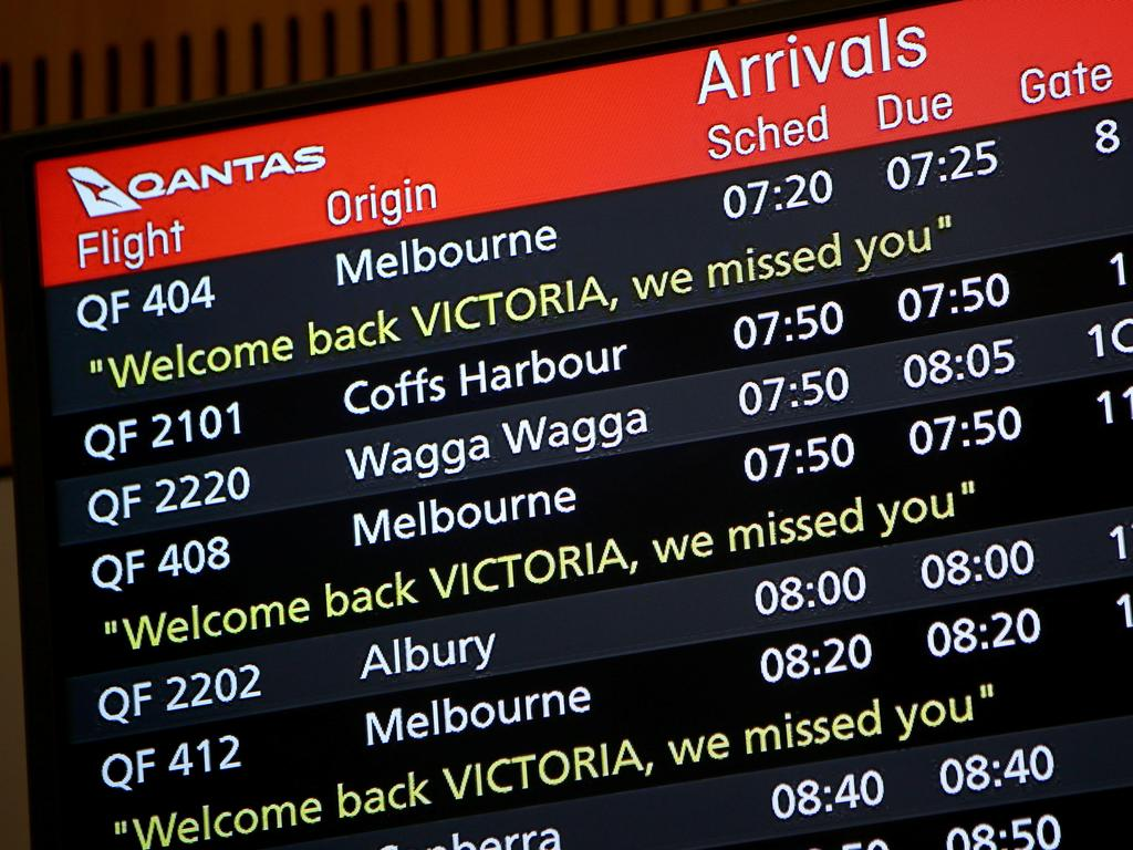 Domestic travel will be much more likely in 2021. Picture: NCA NewsWire/Damian Shaw