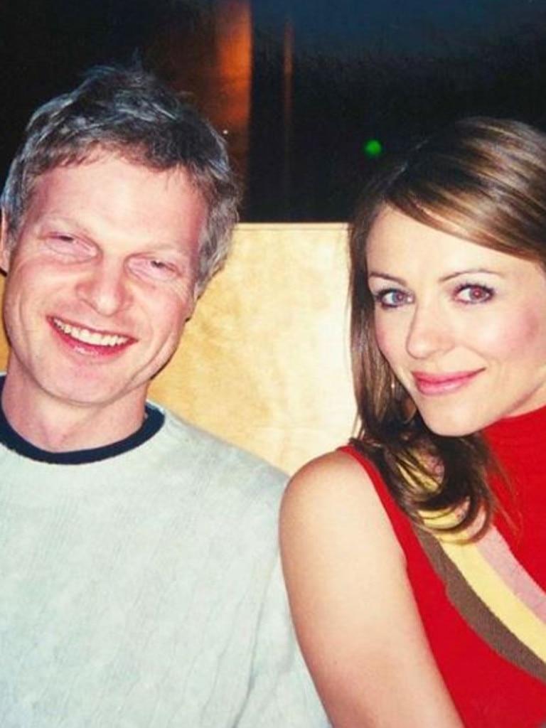 Liz Hurley and Steve Bing.