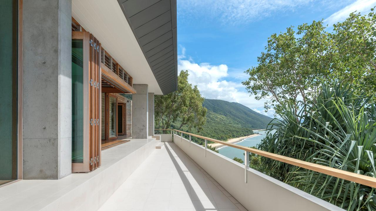 The view from the large balcony is incredible. Photo supplied by Ray White.