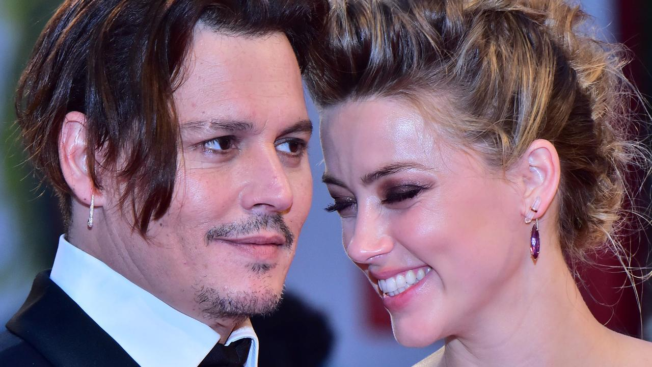 Johnny Depp and Amber Heard have accused each other of physical abuse. Picture: Giuseppe Cacace/AFP