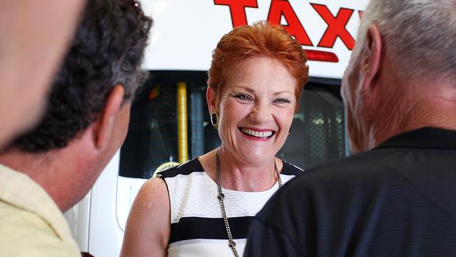 Pauline Hanson pipped Prime Minister Malcolm Turnbull to come in at fourth most searched Australian. Picture: Lisa Maree Williams/Getty Images
